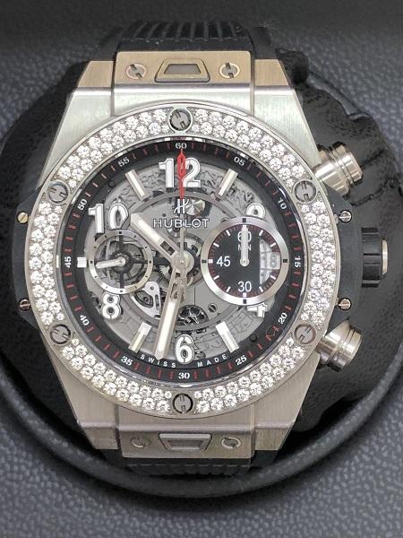 finest selection 7d2df ca5b1 高級時計!ウブロ ビッグバン ウニコ チタニュウムを超高価買取 ...