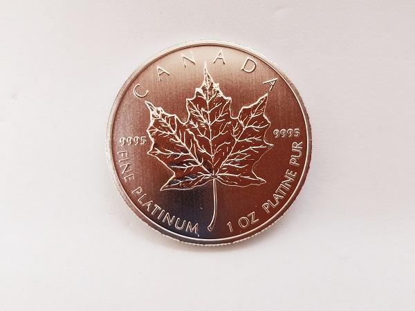 メイプルリーフプラチナコイン 50ドル 1オンス 純プラチナ
